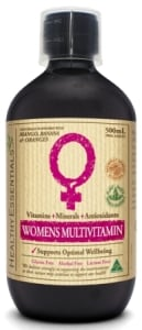 Healthy Essentials Liquid Womens Multivitamin