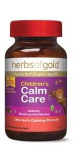 Herbs of Gold Childrens Calm Care