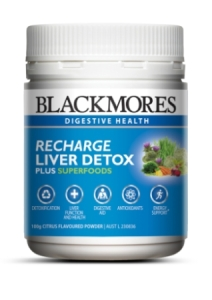 Blackmores Recharge Liver Detox