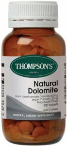 Thompson`s Natural Dolomite 600 mg