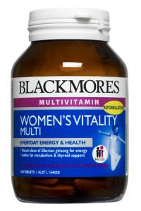 Blackmores Women`s Vitality Multi