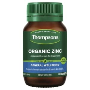 Thompson`s Organic Zinc Tablets